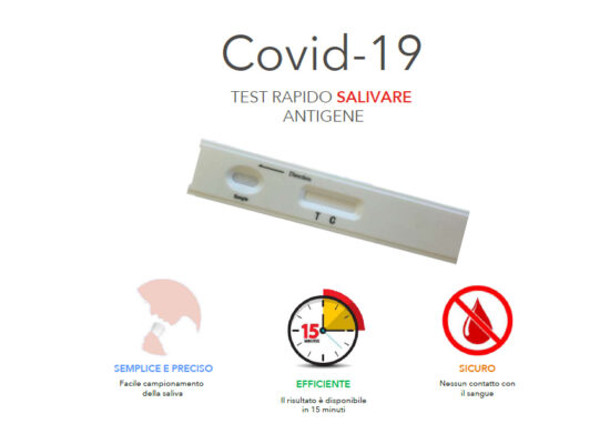 Vendita Test rapidi salivari Covid-19