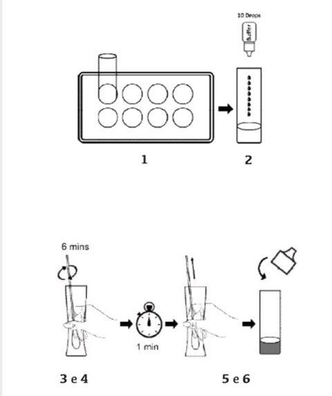 VENDITA Tampone rapido antigenico Covid-19